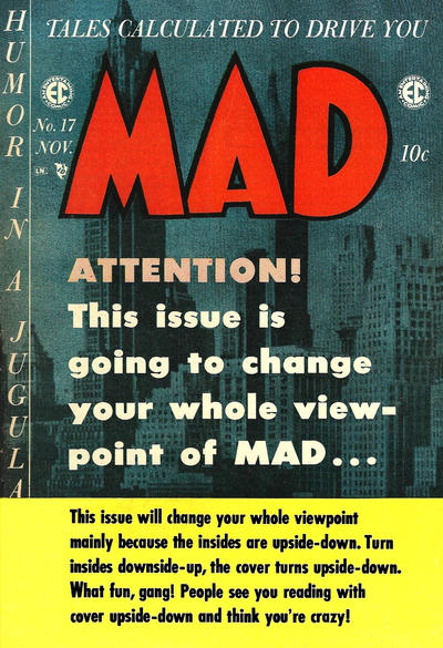 Cover for MAD (EC, 1952 series) #17