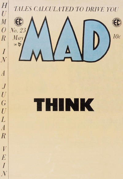 Cover for MAD (EC, 1952 series) #23