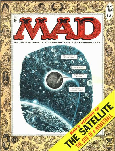 Cover for MAD (EC, 1952 series) #26