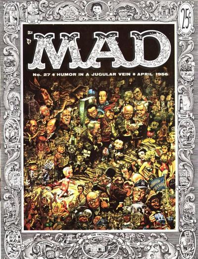 Cover for MAD (EC, 1952 series) #27