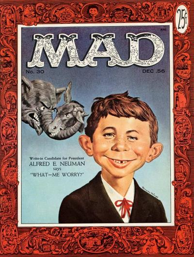 Cover for MAD (EC, 1952 series) #30
