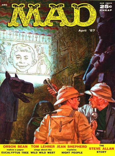 Cover for MAD (EC, 1952 series) #32