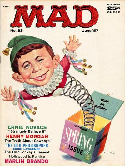 Cover for MAD (EC, 1952 series) #33