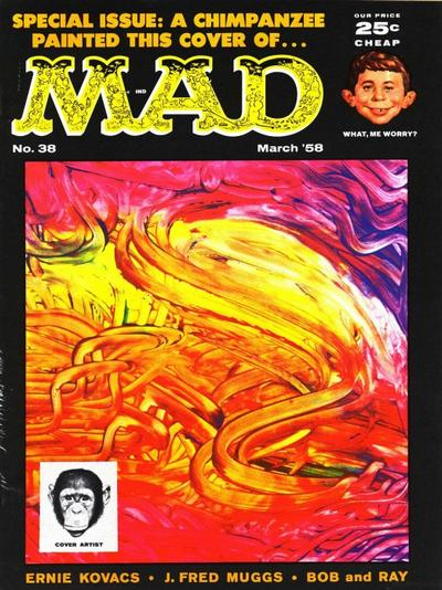 Cover for MAD (EC, 1952 series) #38