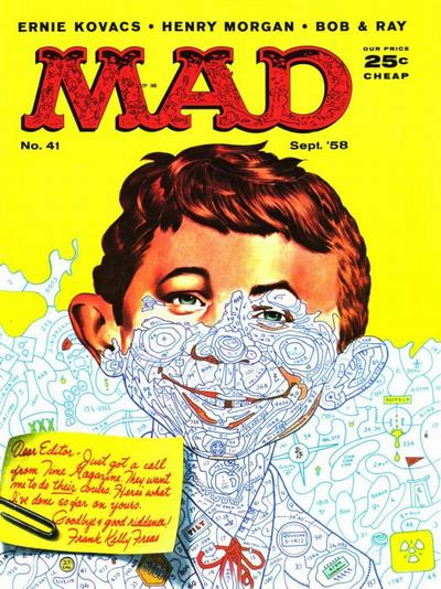Cover for MAD (EC, 1952 series) #41