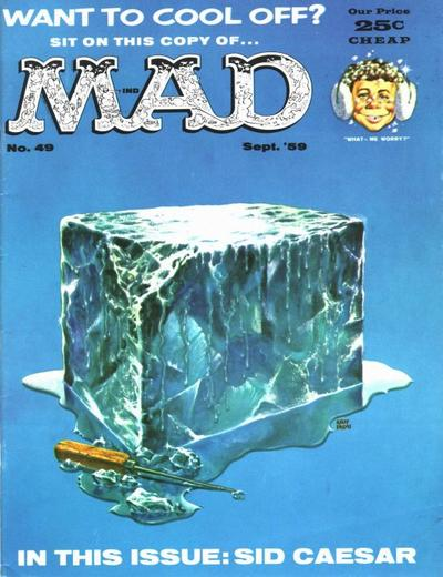 Cover for MAD (EC, 1952 series) #49