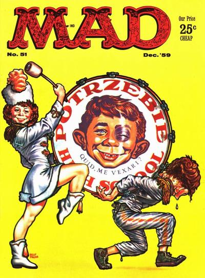 Cover for MAD (EC, 1952 series) #51