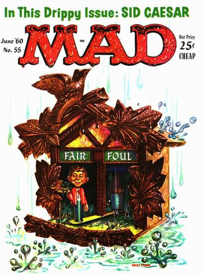 Cover for MAD (EC, 1952 series) #55