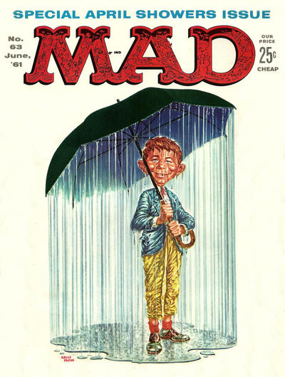Cover for MAD (EC, 1952 series) #63