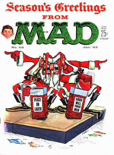 Cover for MAD (EC, 1952 series) #68