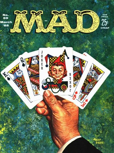 Cover for Mad (EC, 1952 series) #69