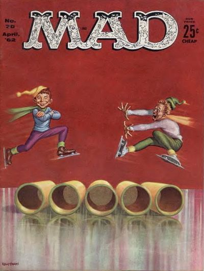Cover for MAD (EC, 1952 series) #70
