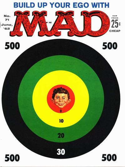 Cover for Mad (EC, 1952 series) #71