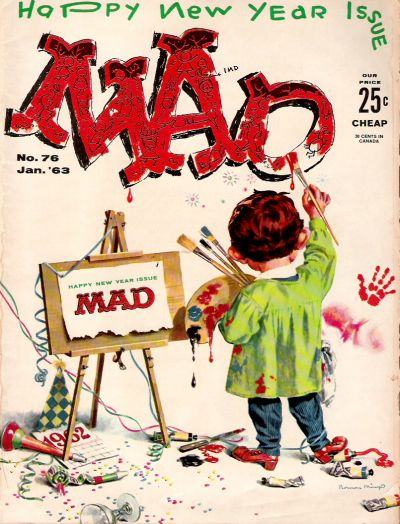 Cover for MAD (EC, 1952 series) #76