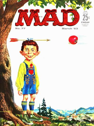 Cover for MAD (EC, 1952 series) #77