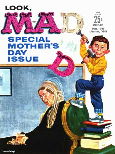 Cover for MAD (EC, 1952 series) #79