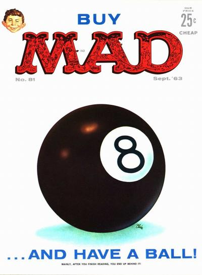 Cover for MAD (EC, 1952 series) #81