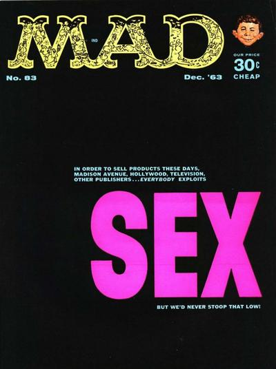 Cover for MAD (EC, 1952 series) #83