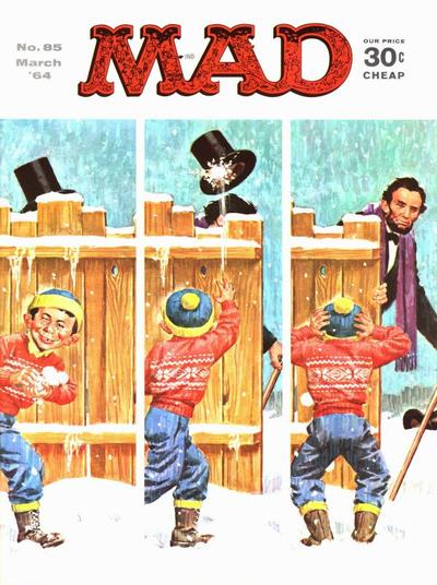Cover for MAD (EC, 1952 series) #85