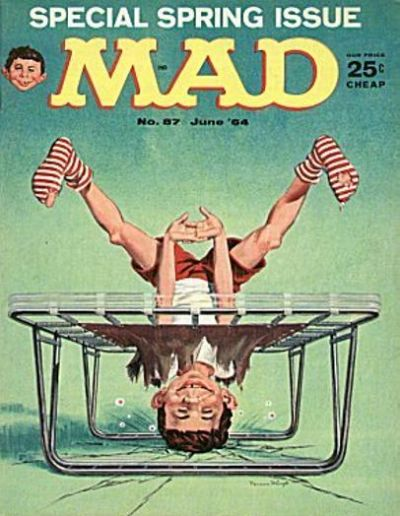 Cover for MAD (EC, 1952 series) #87