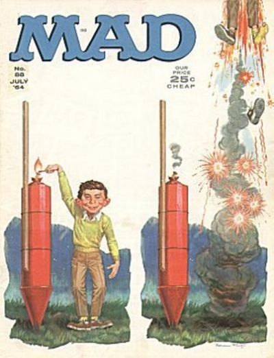 Cover for MAD (EC, 1952 series) #88
