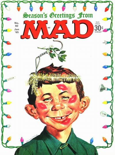 Cover for MAD (EC, 1952 series) #92