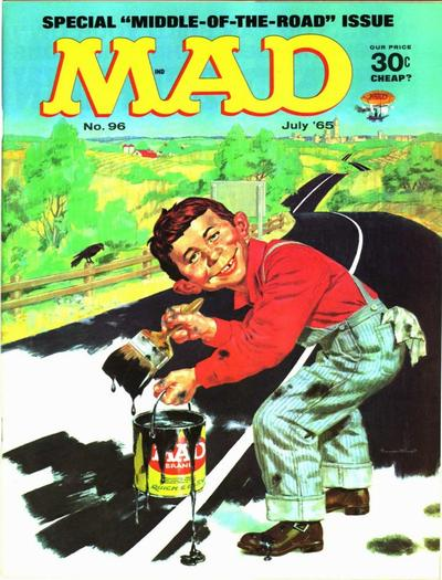 Cover for MAD (EC, 1952 series) #96