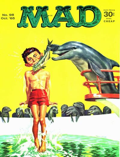 Cover for MAD (EC, 1952 series) #98