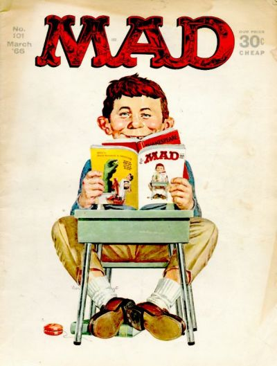 Cover for MAD (EC, 1952 series) #101