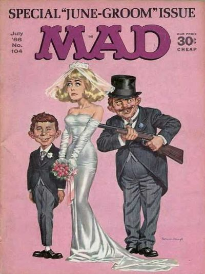 Cover for MAD (EC, 1952 series) #104