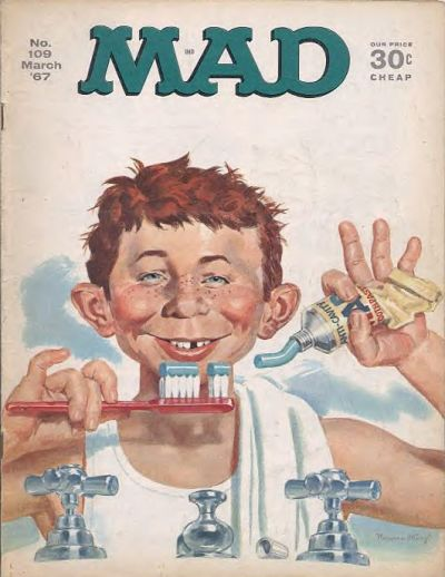 Cover for MAD (EC, 1952 series) #109