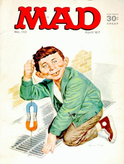 Cover for MAD (EC, 1952 series) #110