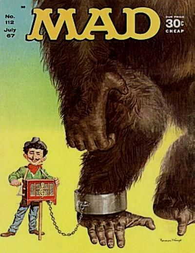 Cover for MAD (EC, 1952 series) #112