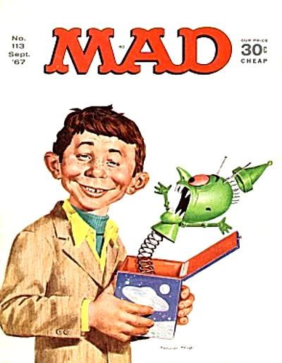 Cover for MAD (EC, 1952 series) #113
