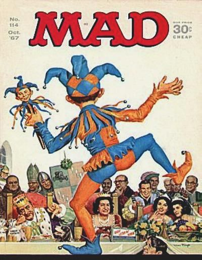 Cover for MAD (EC, 1952 series) #114