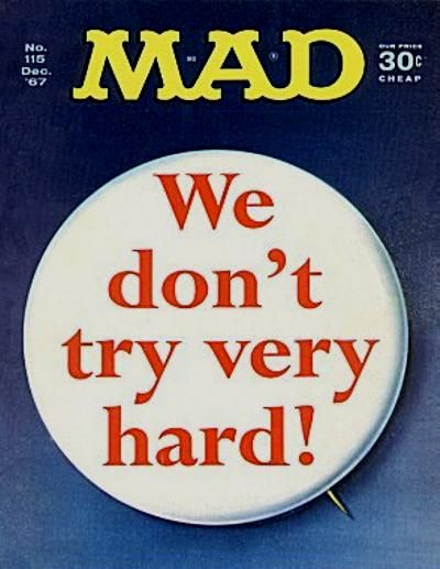 Cover for MAD (EC, 1952 series) #115