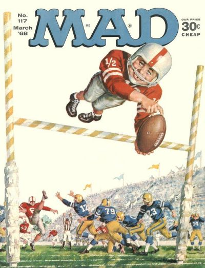 Cover for MAD (EC, 1952 series) #117