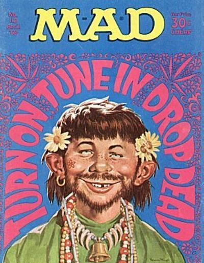 Cover for MAD (EC, 1952 series) #118