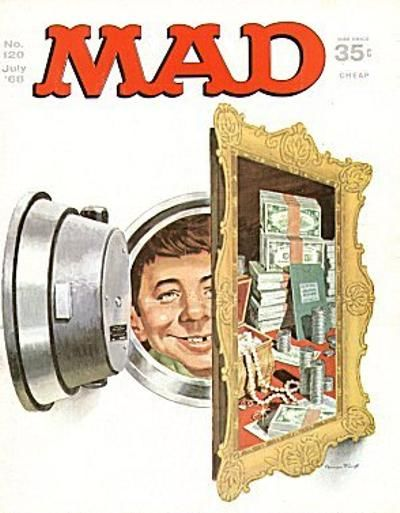Cover for MAD (EC, 1952 series) #120