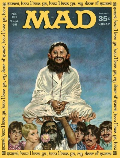 Cover for MAD (EC, 1952 series) #121