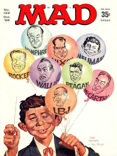 Cover for MAD (EC, 1952 series) #122