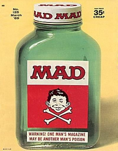 Cover for MAD (EC, 1952 series) #125