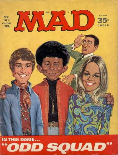 Cover for MAD (EC, 1952 series) #127