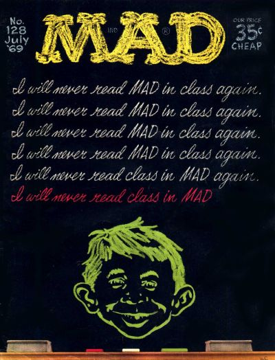 Cover for MAD (EC, 1952 series) #128
