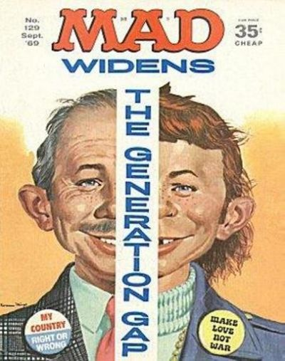 Cover for MAD (EC, 1952 series) #129