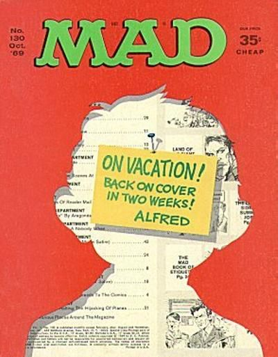 Cover for MAD (EC, 1952 series) #130