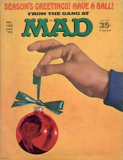 Cover for MAD (EC, 1952 series) #132