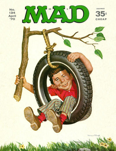Cover for MAD (EC, 1952 series) #134