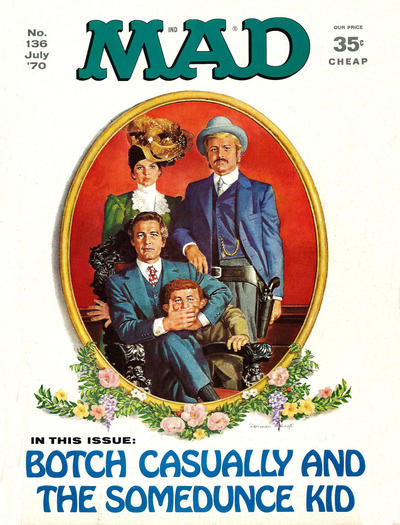 Cover for MAD (EC, 1952 series) #136