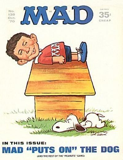 Cover for MAD (EC, 1952 series) #138